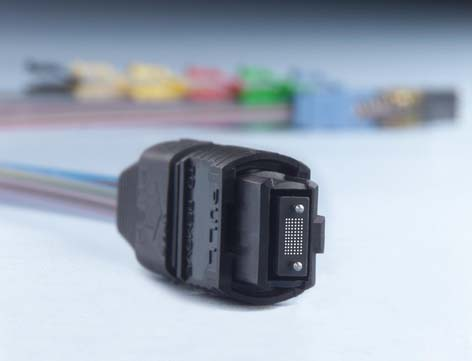 MPO单模光纤连接器