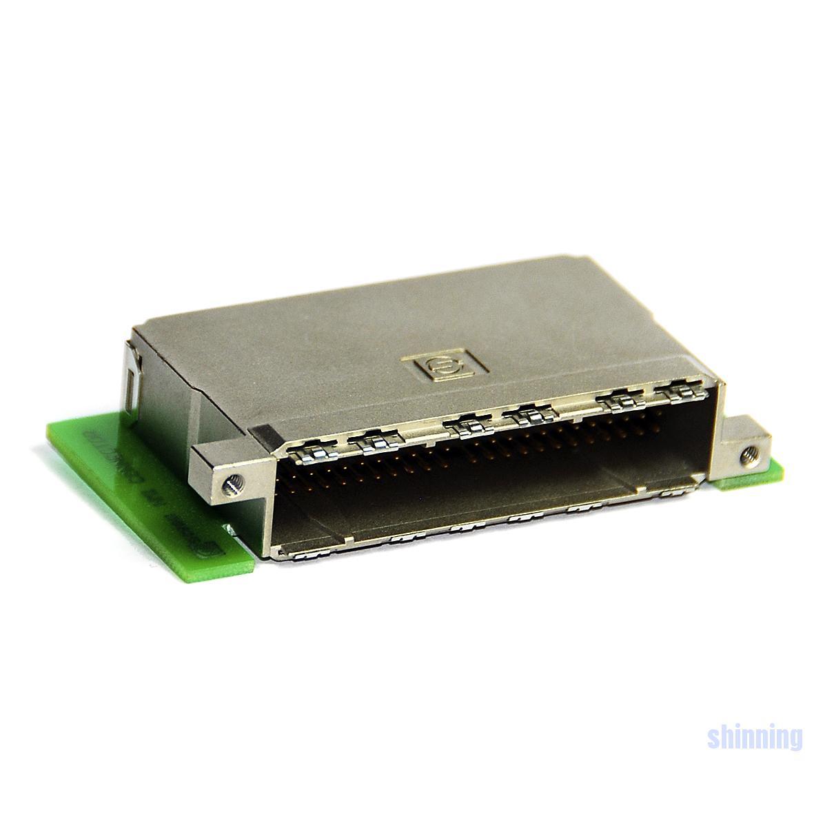 1809 4x24 板端弯公连接器 带ESD弹片