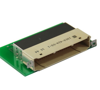 1809 4x24 板端弯公连接器 标准型