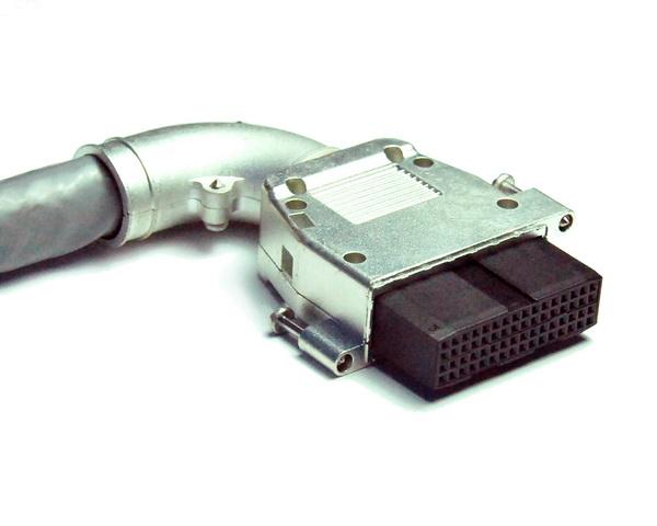 1811 4x16 IDC线缆连接器 90度出线