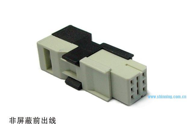 1812 2x3 IDC线缆连接器(前出线)