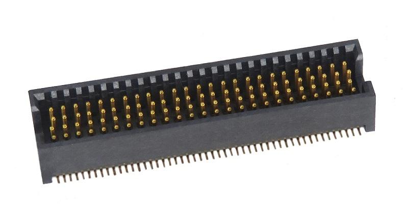 1.27mm 简易牛角 四排